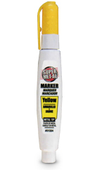 Yellow Metal Marker Pen- Super MET-AL Squeeze Action Paint Marker- SKM Products